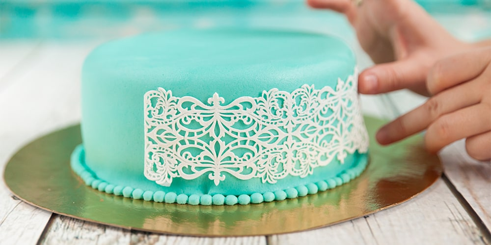 SWEET LACE MATT: MIX FOR EDIBLE DECORATIONS