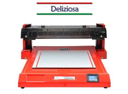 DELIZIOSA: THE FOOD PRINTER FOR LARGE SIZE WITH SELF-ADJUSTING HEIGH