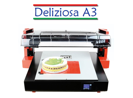 DELIZIOSA A3: THE FOOD PRINTER WITH DIRECT PRINTING